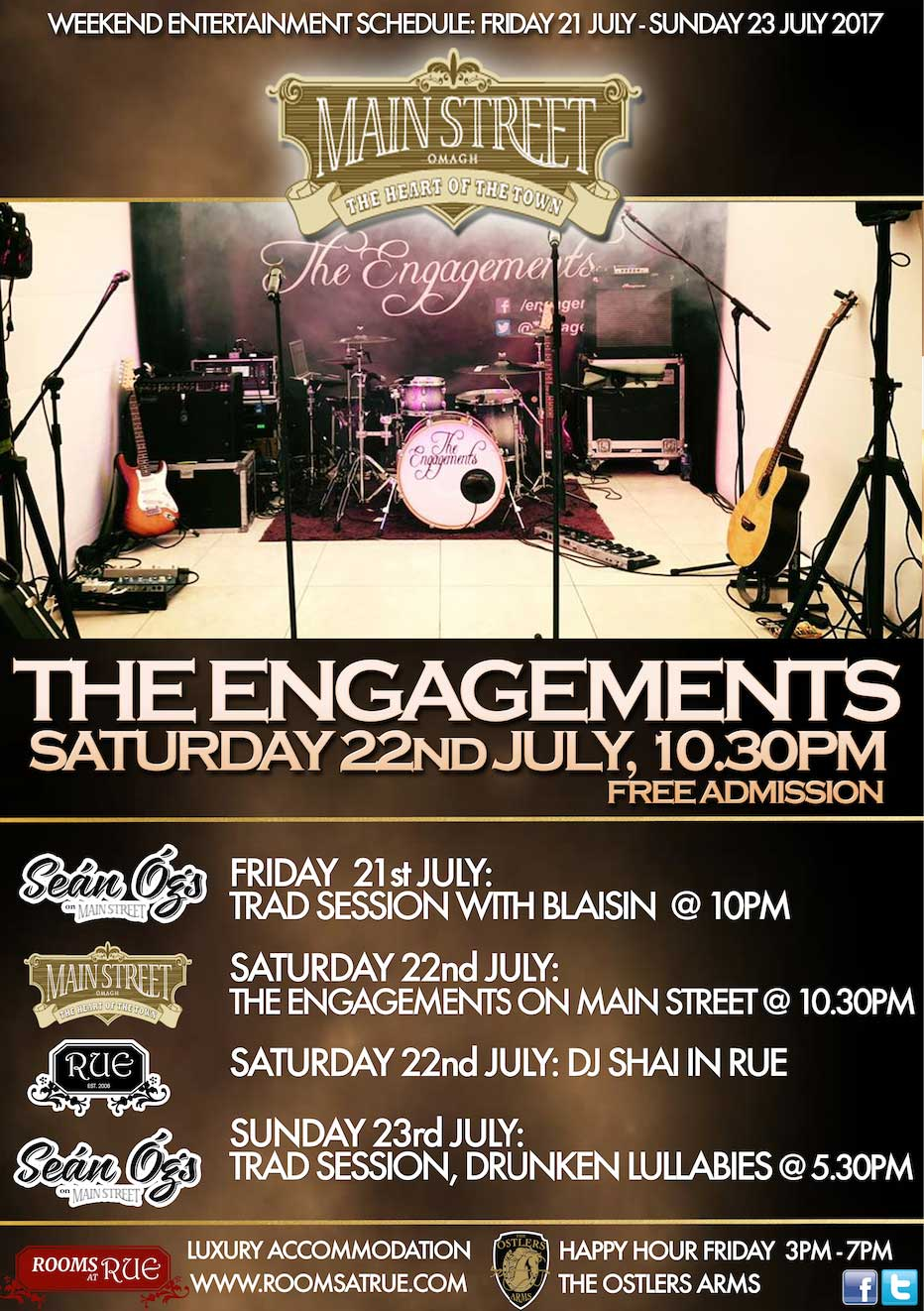 The Engagements Main Street Omagh web
