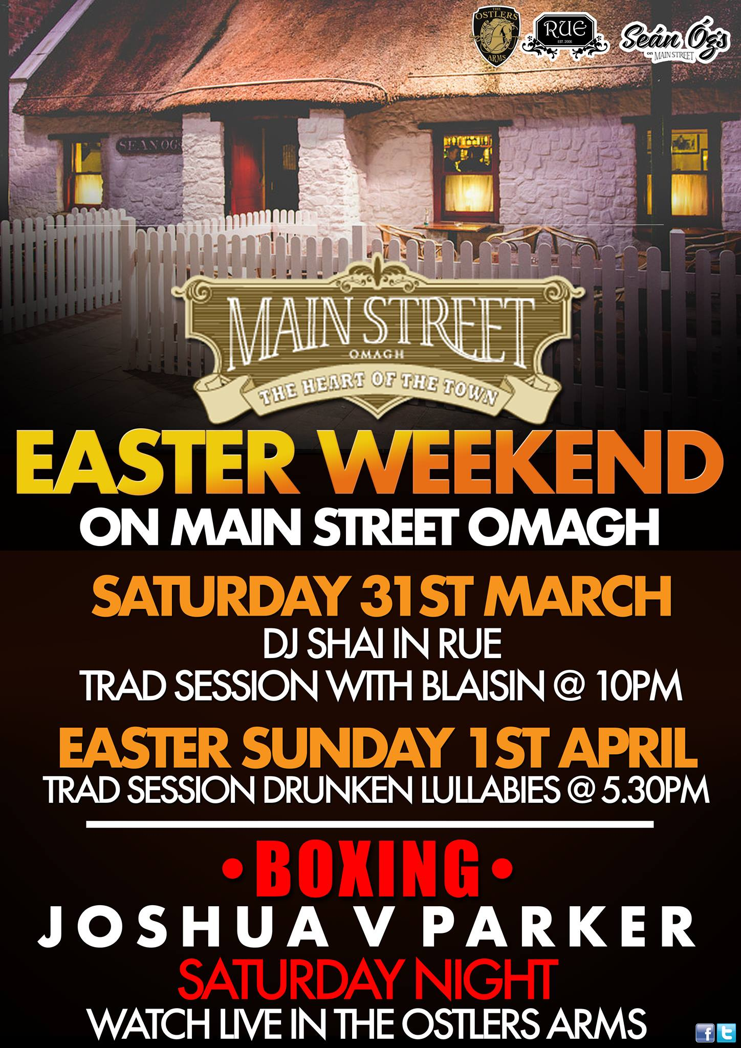 main street omagh easter music